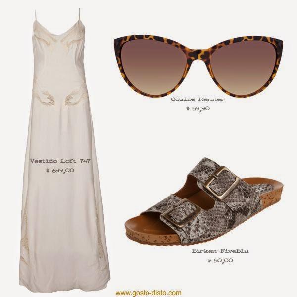 Look com vestido branco