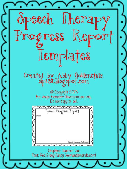 Speech report writing