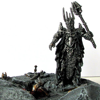 sauron diorama army base