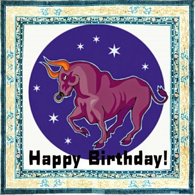 birthday cards taurus