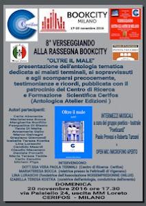 """Verseggiando alla rassegna BookCity di Milano: """"Oltre il male"""""""
