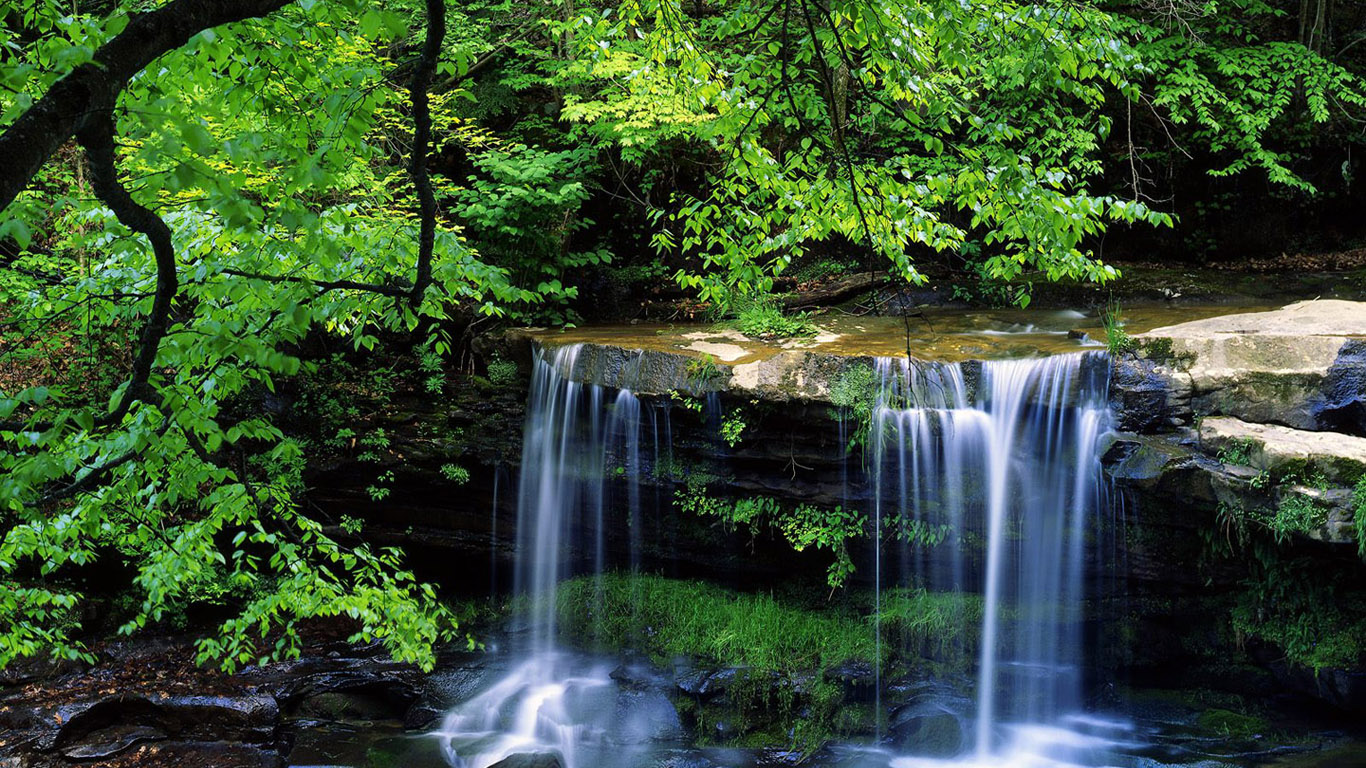 Desktop Nature Falls Images In Natures Fall Photos Green