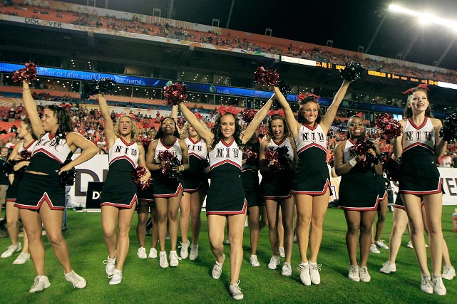 NIU Cheerleader | Cheerleading =my life <3 | Pinterest