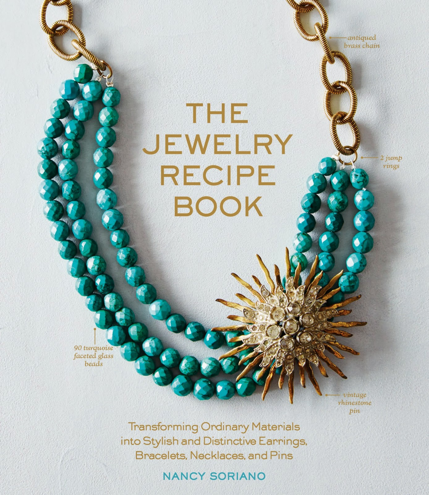 Passionate about crafting the jewelry recipe book by for Nancy b fine jewelry