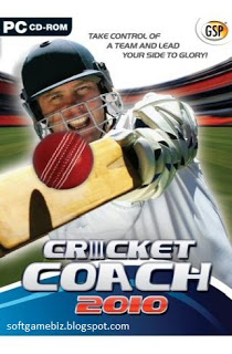 Free Download Cricket Coach 2010 Full version PC Game