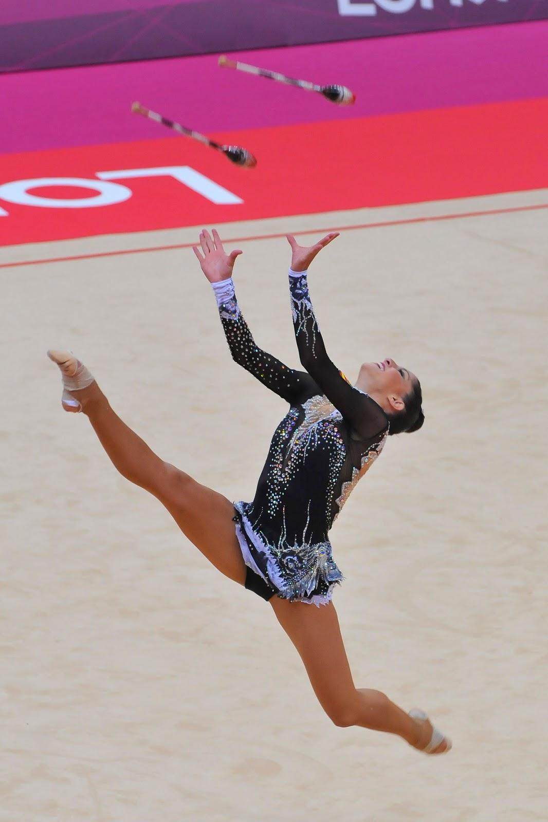 File:Belarus rhythmic gymnastics team 2012 Summer Olympics