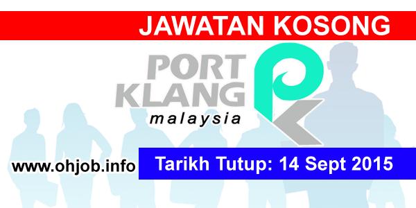 Jawatan Kerja Kosong Lembaga Pelabuhan Klang (PKA) logo www.ohjob.info september 2015