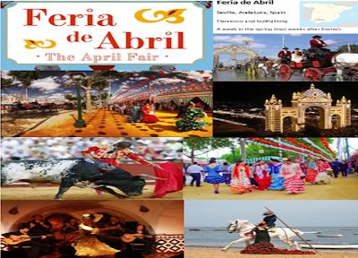Grammazzle  Spain España Sbaen Feria Abril Toros Torero Sevillanas Flamenco Carroza Caballo Bullfighter Bull