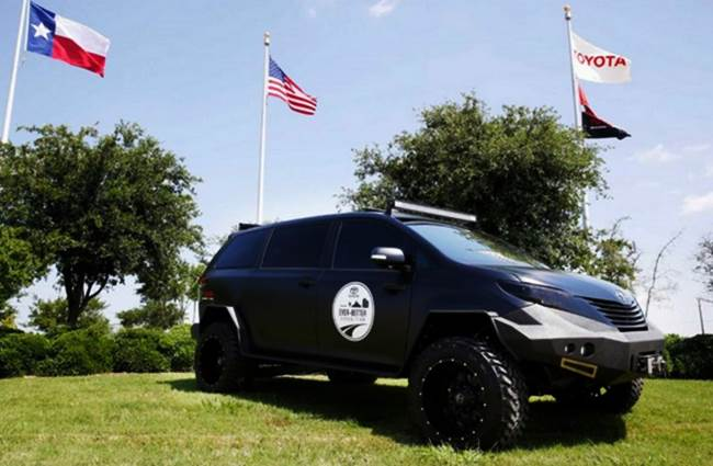 Toyota Teases Us With the UUV, the Coolest Off-Road Sienna