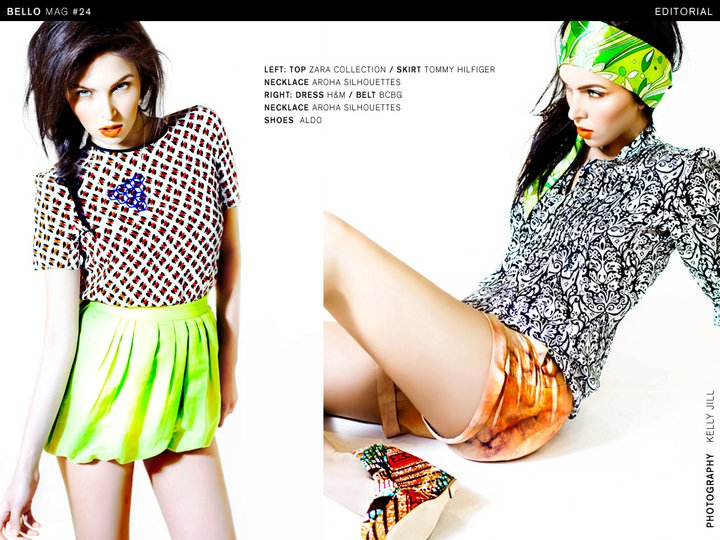 Bello Magazine Aroha Silhouettes Kelly Jill Sarah Danniels Eman Madison
