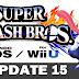 Super Smash Bros Update 15: Explosão de Novidades