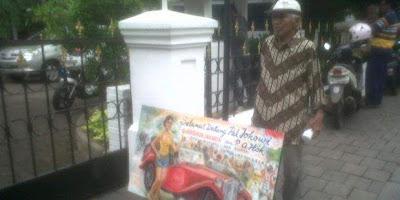 Kisah Sutanto Pelukis Tua yang Ingin Bertemu Jokowi