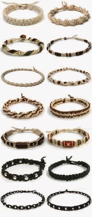 ideas different types of macrame bracelets