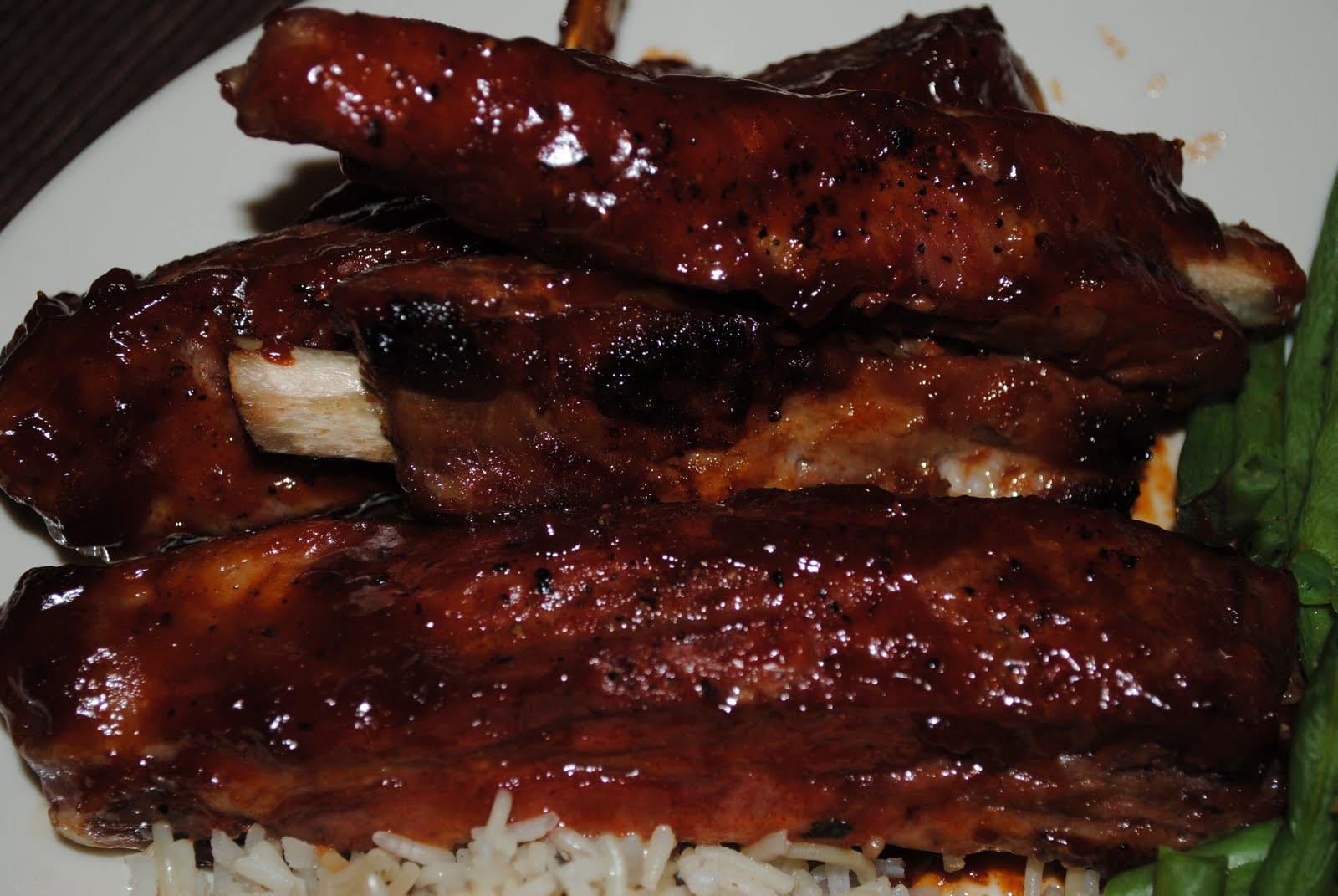 this bbq pork ribs is made with my homemade bbq sauce season the ribs ...