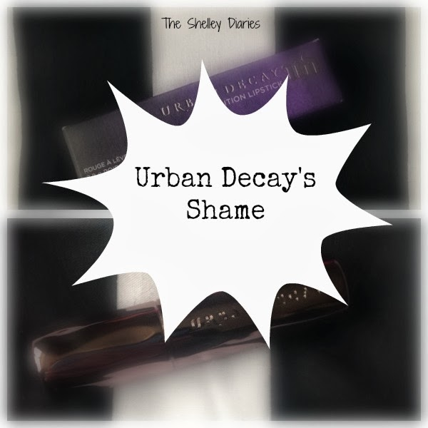 Urban Decay Revolution Lipstick in Shame