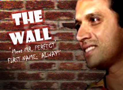Rahul Dravid- The Wall