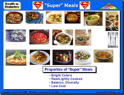 Super Meals reverse Type 2 diabetes.