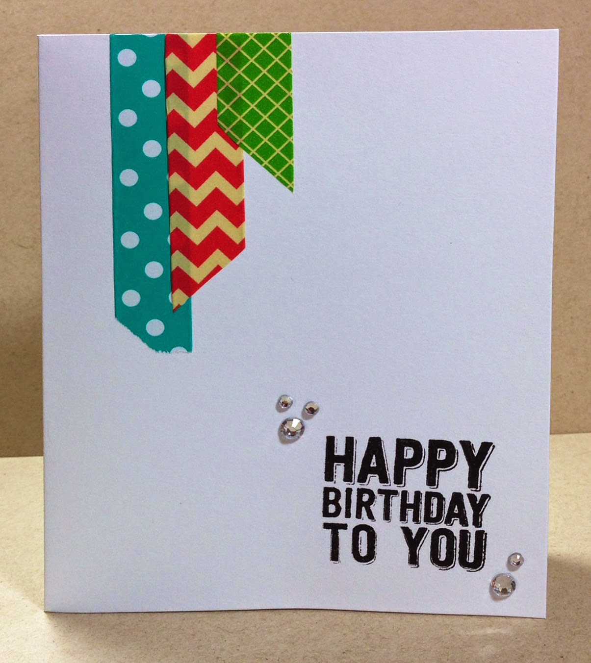 Hampton art blog quick and easy birthday cards using paper tape quick and easy birthday cards using paper tape by designer joy ott bookmarktalkfo Choice Image