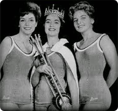 TOP TRES MISS BRASIL 1961