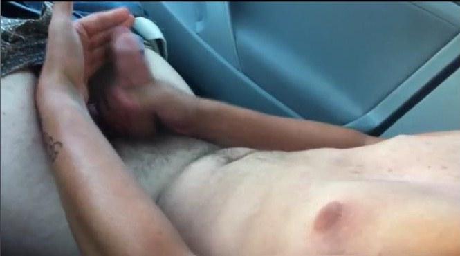 Anime porno en el carro