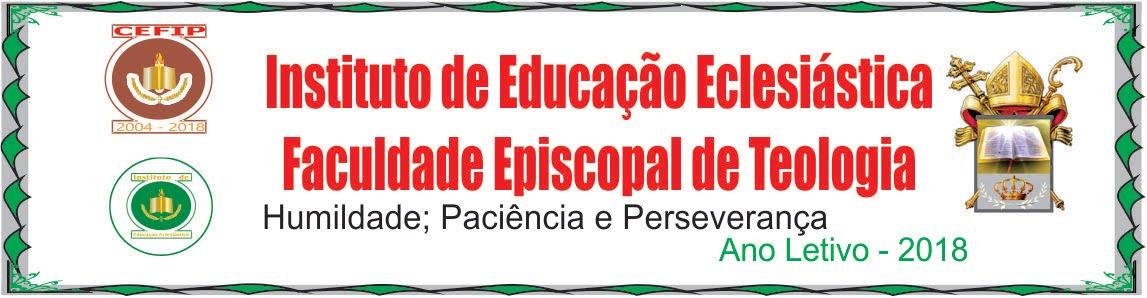 INSTITUTO DE EDUCAÇÃO ECLESIÁSTICA  - STPEB