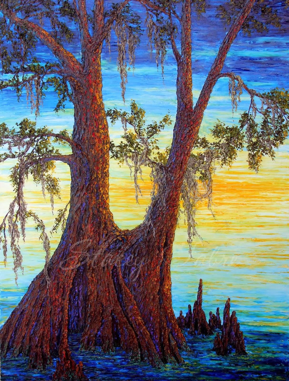'Twin Cypress'
