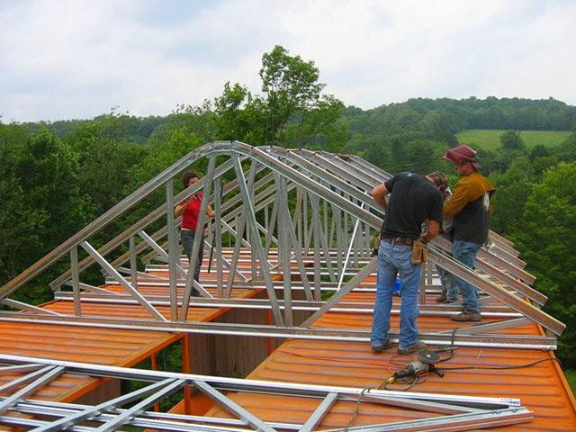 Construir Un Tejado. Interesting Construir Un Tejado With Construir ...