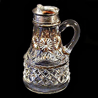 EAPG Syrup Pitcher, National, Petticoat