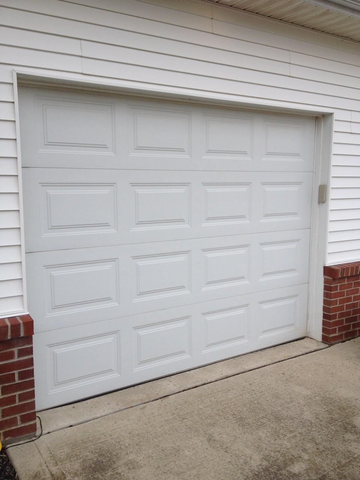 A Garage Door Makeover ~