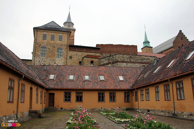 Oslo - citadelle d'Akershus