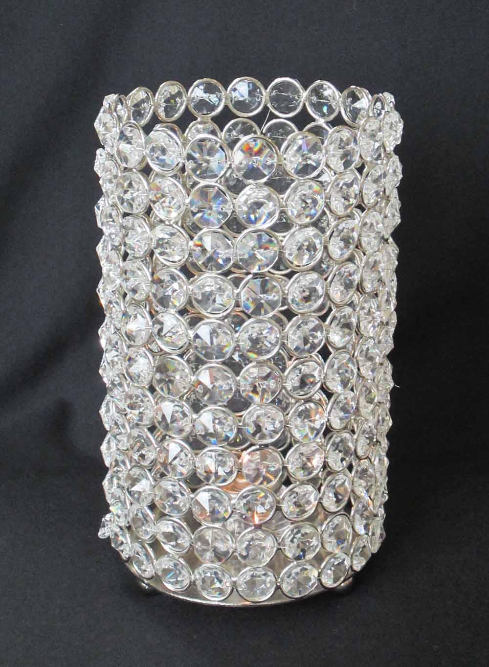 Rental Highlight Crystal Beaded Cylinders Elite Events