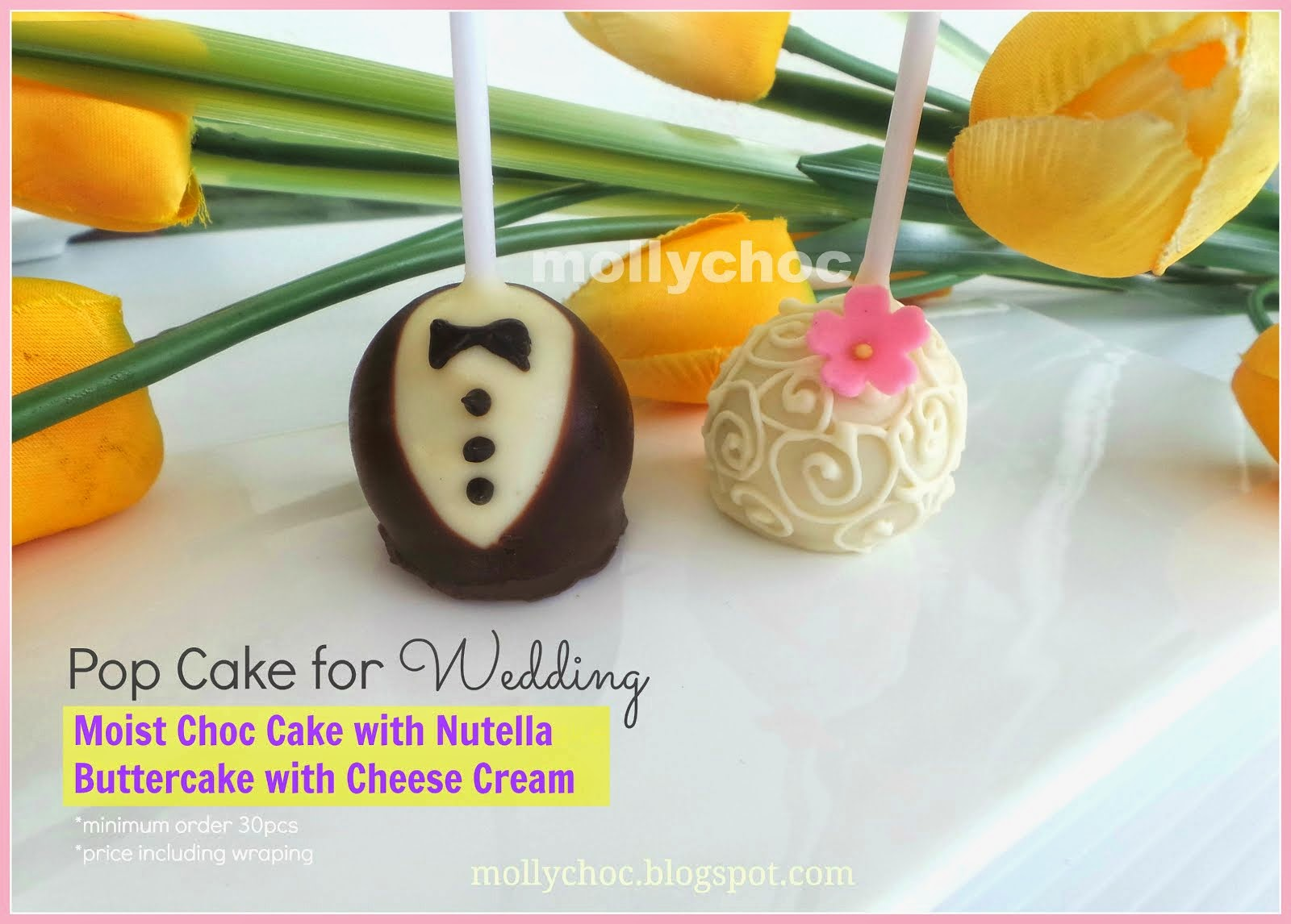 Popcake for Wedding