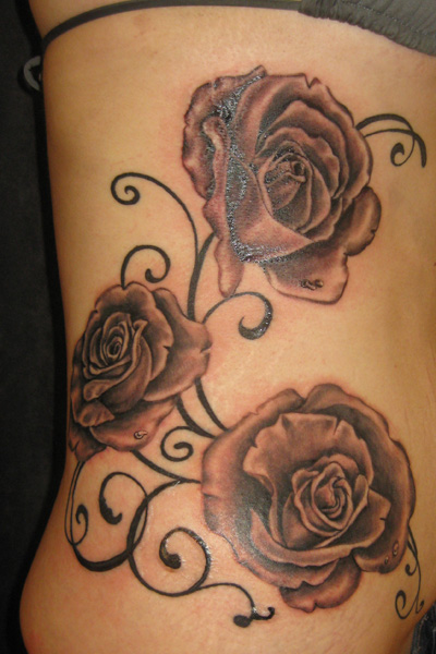 tattoos on the ribcage for women find a tattoo blog. Black Bedroom Furniture Sets. Home Design Ideas