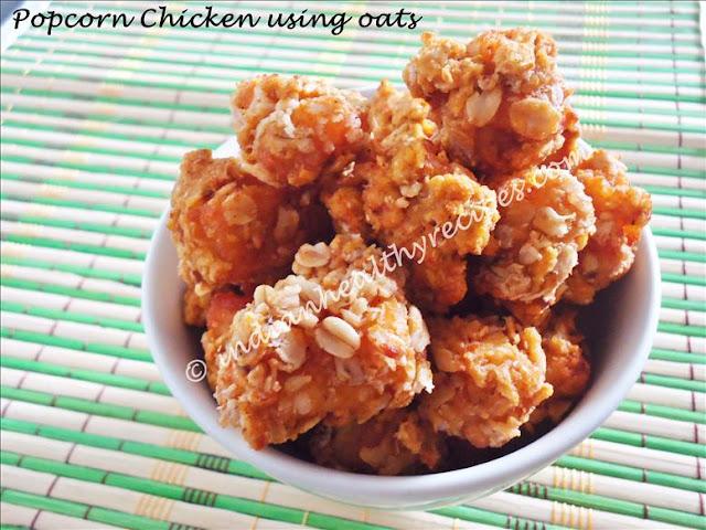 Popcorn Chicken Kids Style : popcorn chicken recipe, how to make kfc style popcorn chicken