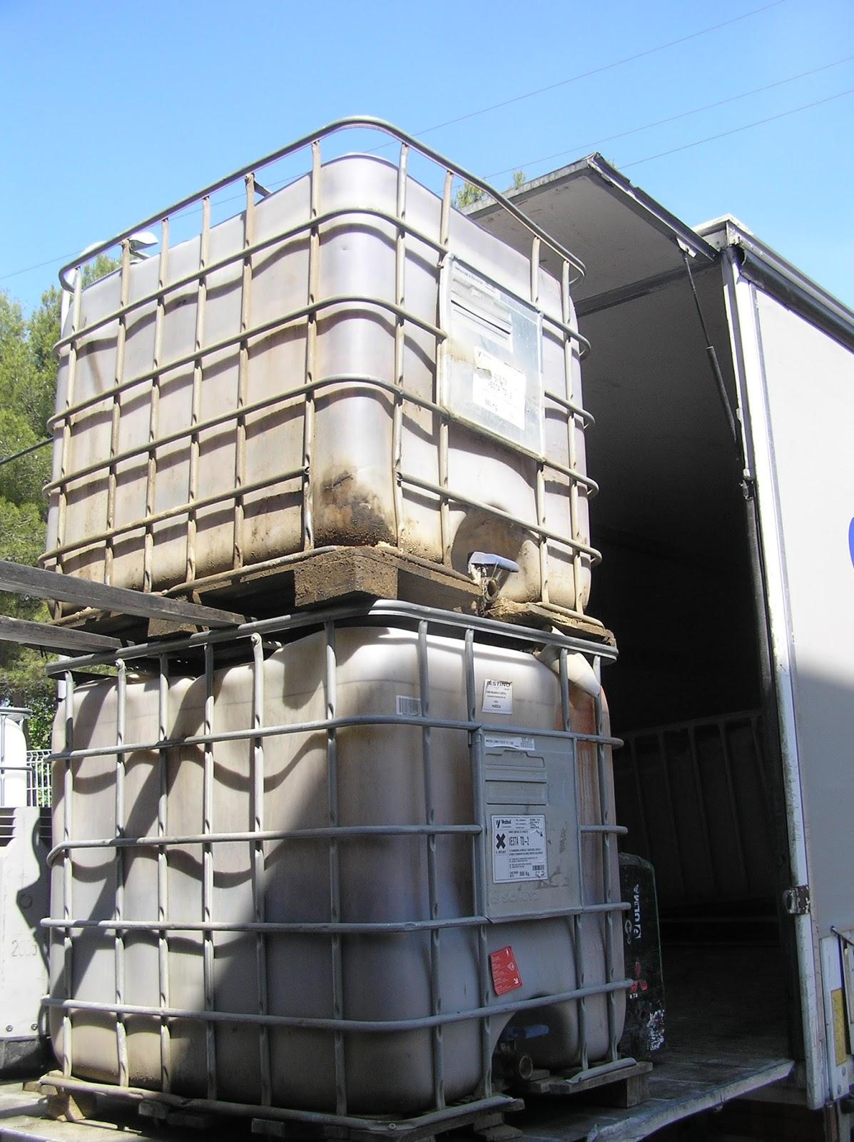 Bidones contenedores de residuos