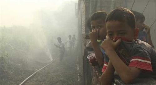 Bencana Asap Indonesia Telah Merenggut 10 Nyawa dan 500 Ribu Lebih Sakit ISPA