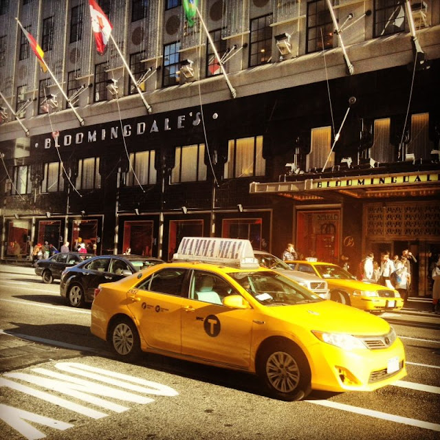 #LoveThisCity New York Taxis outside Bloomingdales