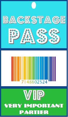 free printable vip pass template