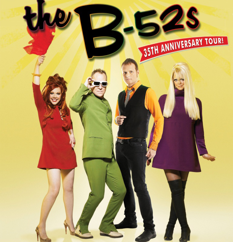 A PLACE FOR TICKETS The Blog The B 52s Bring Their 35th
