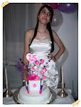 Torta 15 años de Tatiana