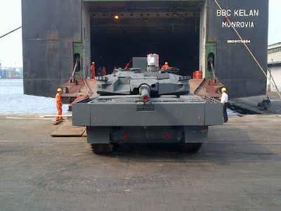 Tank Leopard Tiba di Jakarta Hari Ini