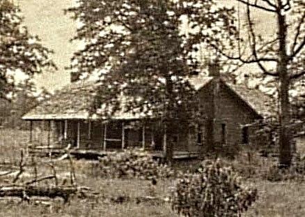 John Cole House-- Bonnie & Clyde's last hideout