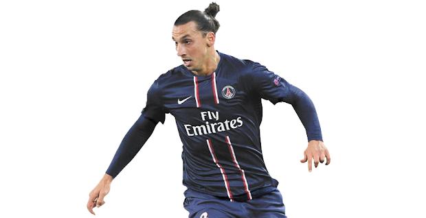 Menu Blog Menggunakan Gambar Zlatan Ibrahimovic