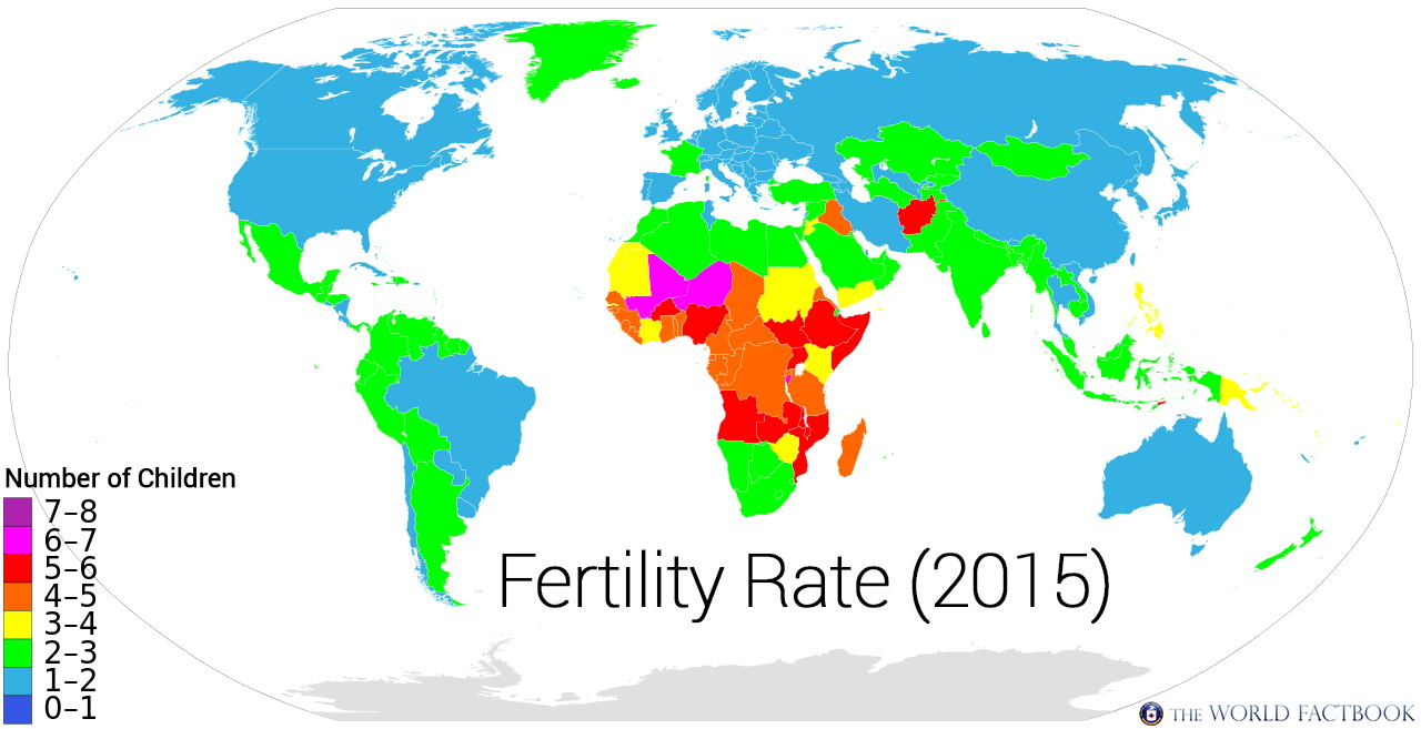 Fertility Rate (2015)