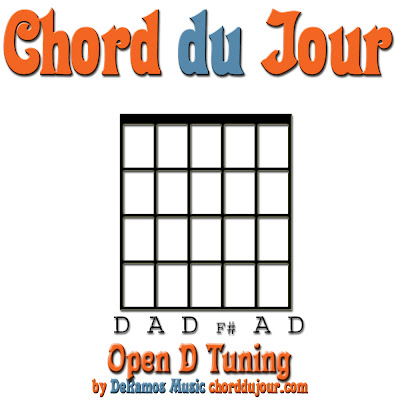 Guitar guitar chords in open d : Chord du Jour: NEW! Jam Session 203n + Open D Tuning (Guitar)