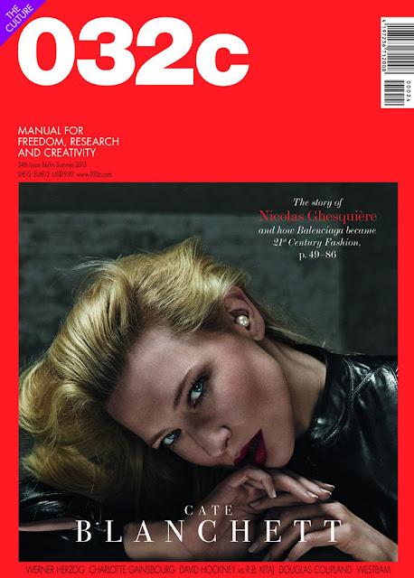 Cate Blanchett 032c Magazine Cover 2013