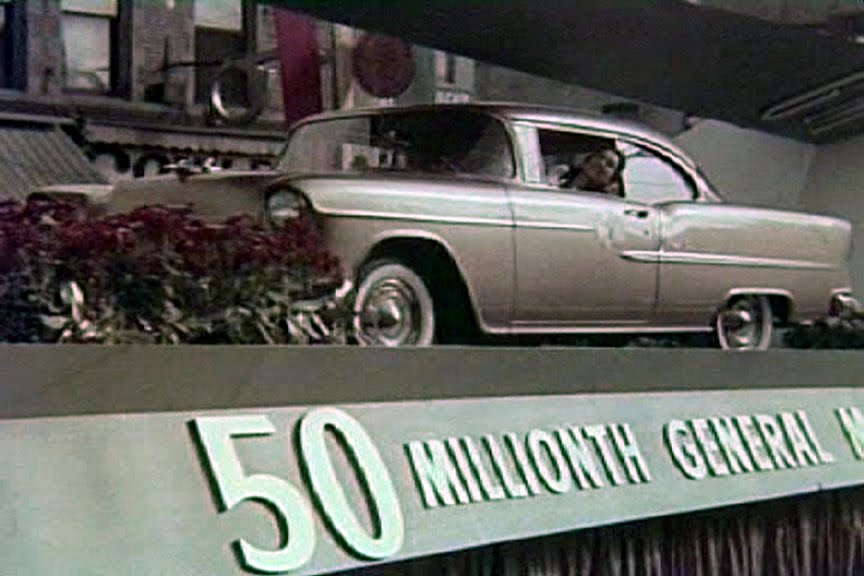Dream cars 1955 chevrolet bel air at 950am that day gms 50 millionth body met its 50 millionth chassis and assembly personnel secured its many components sciox Choice Image