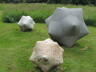 Burtown House, sculpture, stone