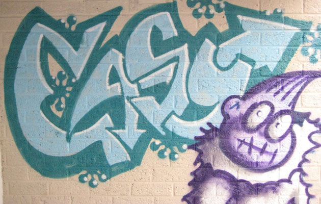 Easy graffiti art design - Graffiti ideas for simple people