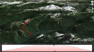 Lost Creek Ridge Hike Route
